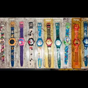 Lot of 10 Disney Vintage Watches